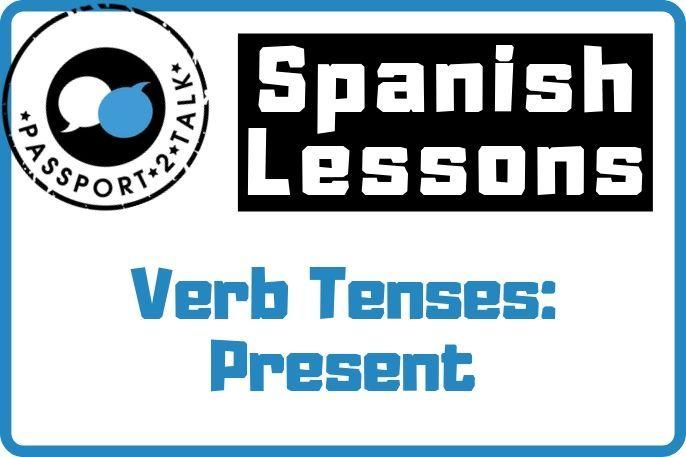 Verb Tenses Present