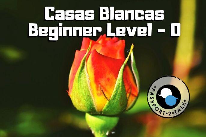 Spanish Course Beginner Casas Blancas Murcia 0