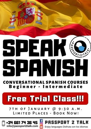 Free Spanish Lessons in Sucina