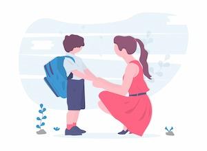 children schoolar registration